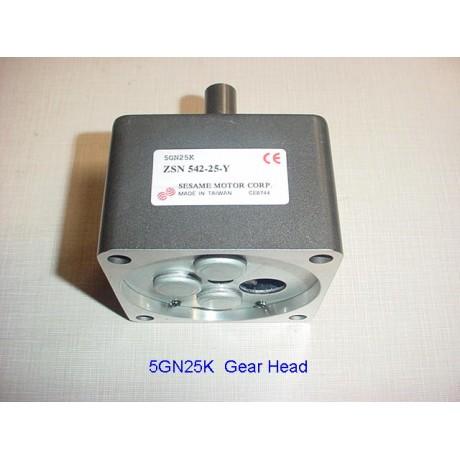 5GN25K  Gear Head