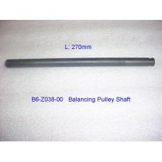B6-Z038-00  Balancing Pulley Shaft